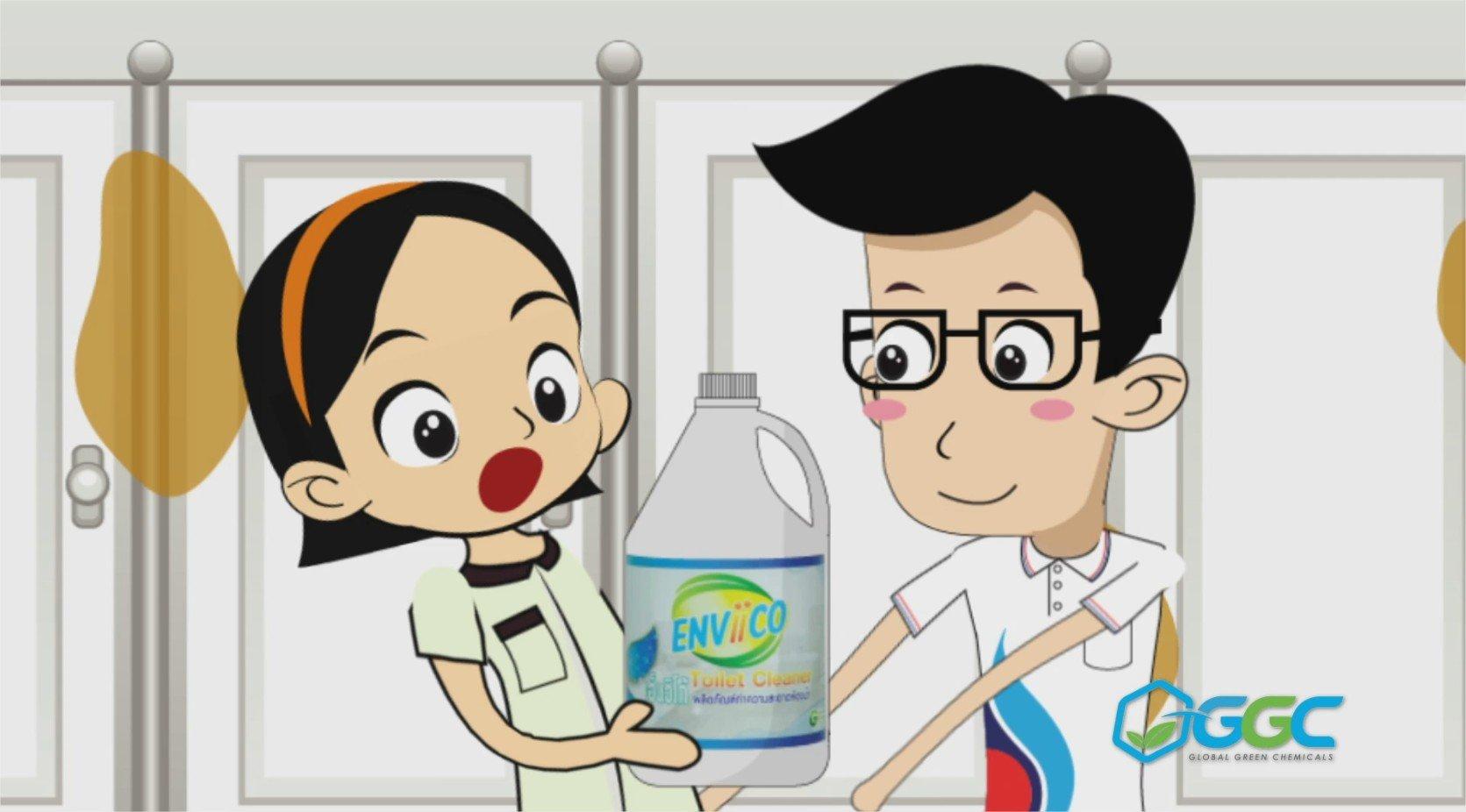 VDO เปิดตัวผลิตภัณฑ์ Enviico : ผลิตภัณฑ์ทำความสะอาดห้องน้ำมิติใหม่ ใส่ใจสิ่งแวดล้อม