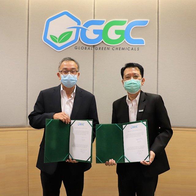 """GGC จัดพิธีส่งมอบงาน แก่ """"นายไพโรจน์ สมุทรธนานนท์"""" กรรมการผู้จัดการคนใหม่"""